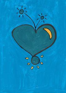sprankelend hart